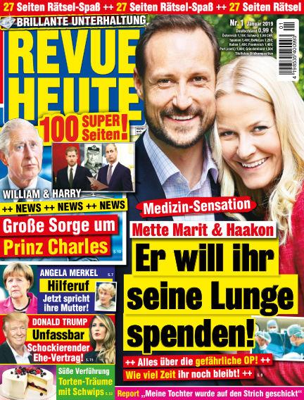 Revue Heute December 19, 2018 00:00