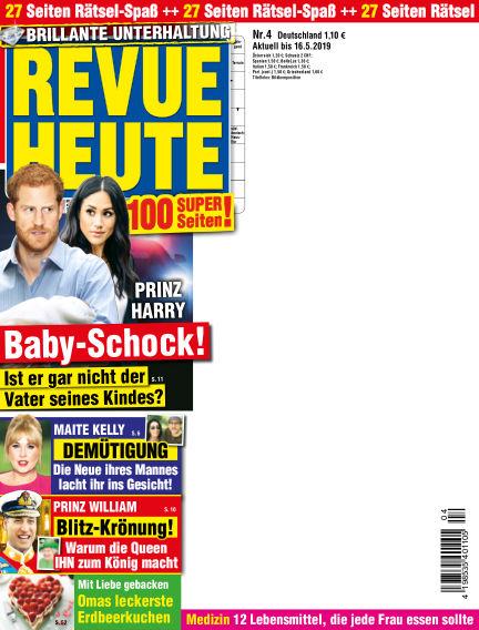 Revue Heute April 10, 2019 00:00