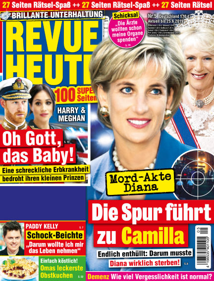 Revue Heute May 17, 2019 00:00
