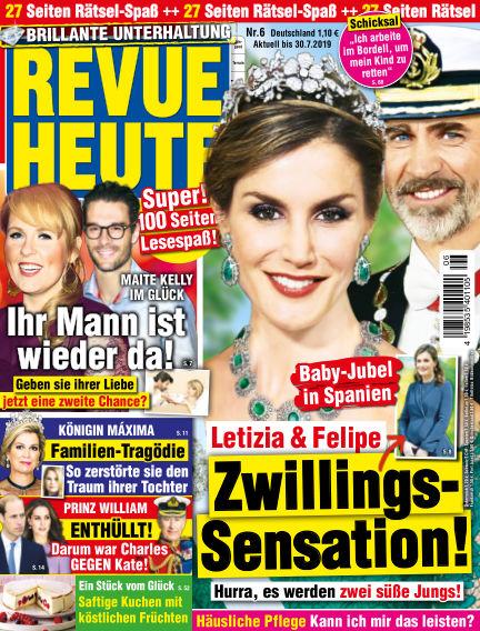 Revue Heute June 26, 2019 00:00