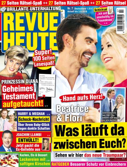 Revue Heute July 31, 2019 00:00