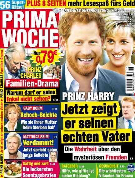 Prima Woche October 19, 2016 00:00