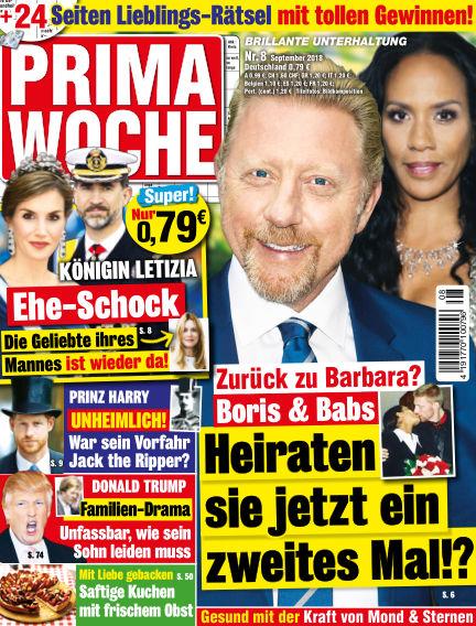 Prima Woche August 08, 2018 00:00