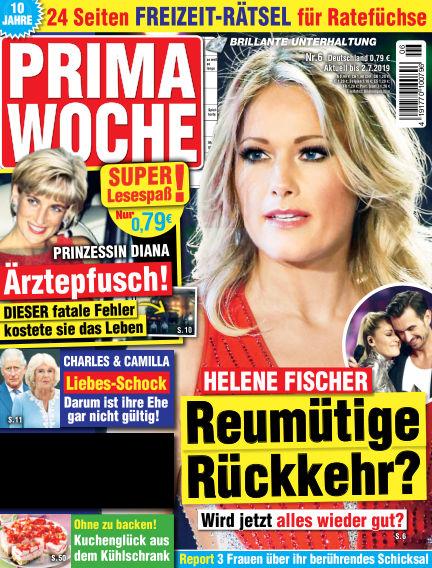 Prima Woche May 24, 2019 00:00