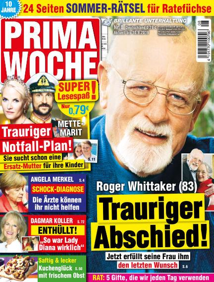 Prima Woche August 07, 2019 00:00