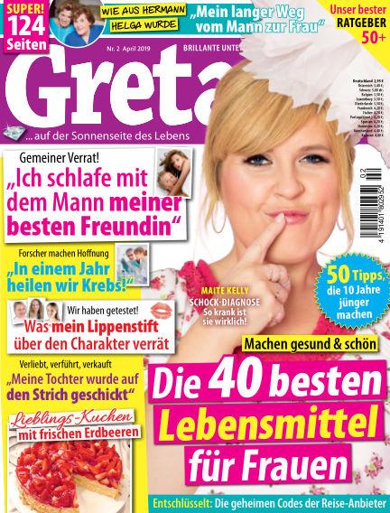 Greta February 23, 2019 00:00