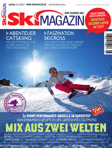SkiMAGAZIN December 09, 2016 00:00