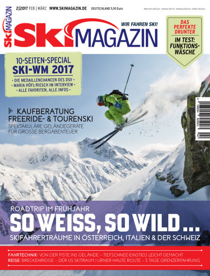 SkiMAGAZIN February 03, 2017 00:00