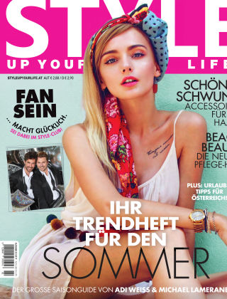 STYLE UP YOUR LIFE! Sommer 2019