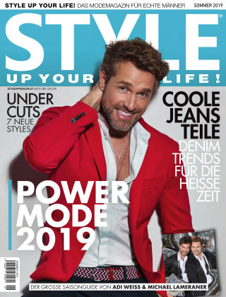 STYLE UP YOUR LIFE! Men Frühjahr Sommer 2019