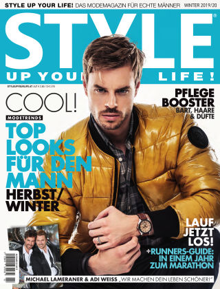 STYLE UP YOUR LIFE! Men Winter 2019/20