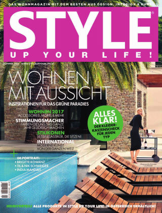 STYLE UP YOUR LIFE! Living Frühjahr/Sommer 2017