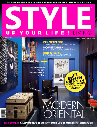 STYLE UP YOUR LIFE! Living Winter 2018
