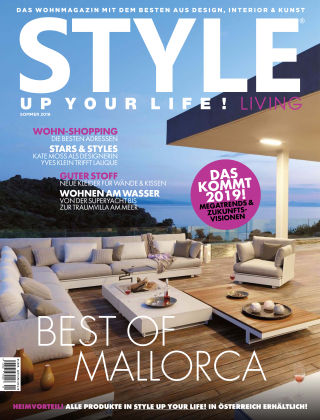STYLE UP YOUR LIFE! Living Sommer 2018
