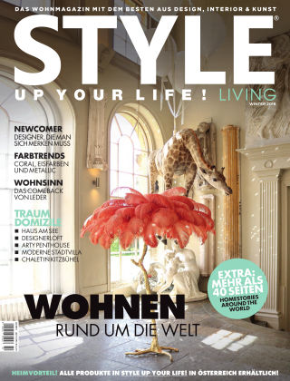 STYLE UP YOUR LIFE! Living Winter 2019