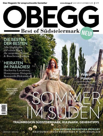 OBEGG - Best of Südsteiermark June 01, 2017 00:00