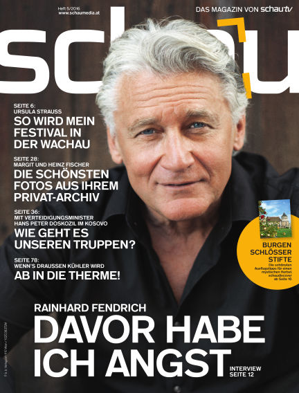schau Magazin October 05, 2016 00:00