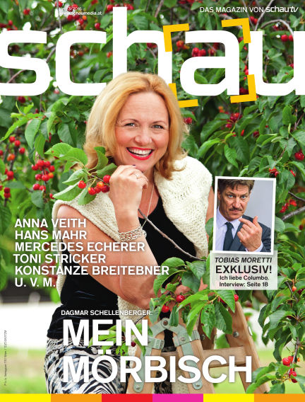 schau Magazin June 15, 2016 00:00