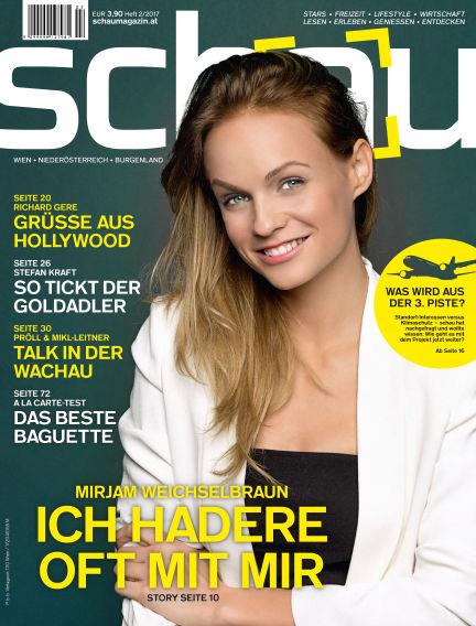 schau Magazin April 26, 2017 00:00