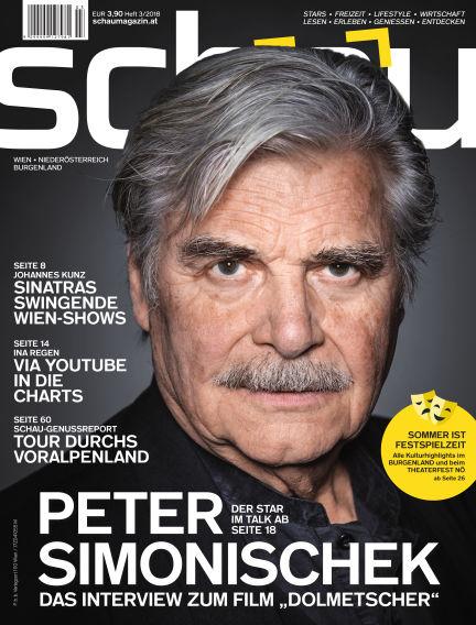 schau Magazin June 13, 2018 00:00