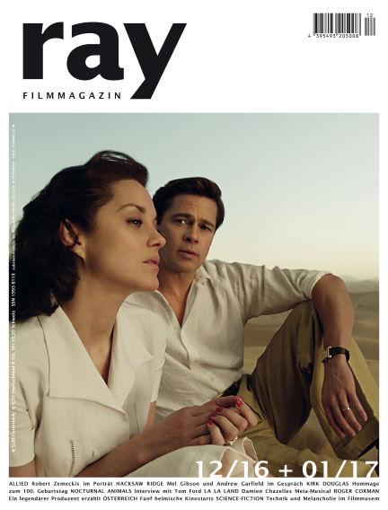 ray Filmmagazin December 23, 2016 00:00