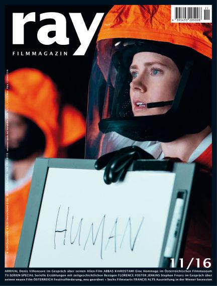 ray Filmmagazin October 29, 2016 00:00