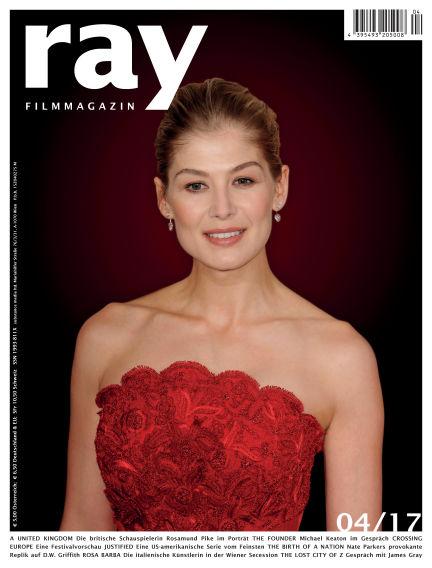 ray Filmmagazin March 31, 2017 00:00