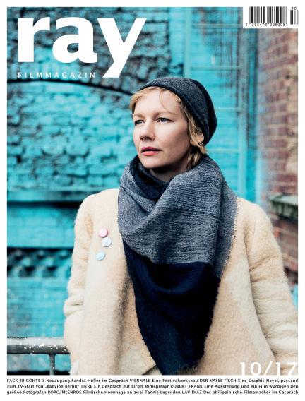 ray Filmmagazin September 28, 2017 00:00
