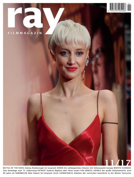 ray Filmmagazin October 28, 2017 00:00