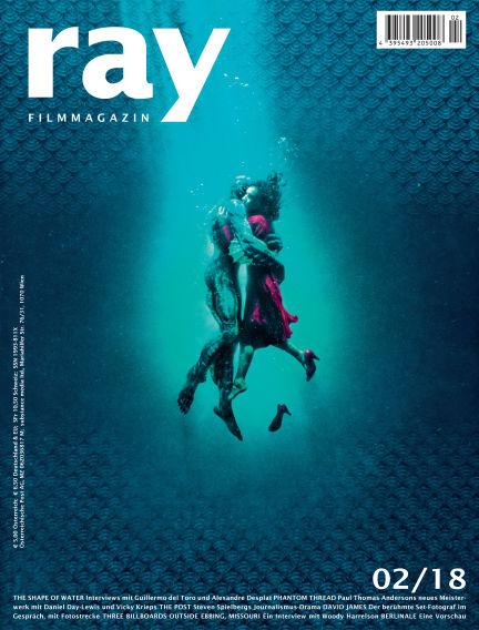 ray Filmmagazin January 26, 2018 00:00