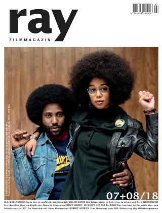 ray Filmmagazin 07+08/18
