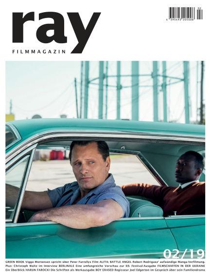 ray Filmmagazin February 01, 2019 00:00