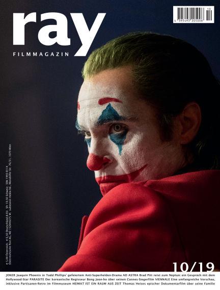 ray Filmmagazin September 28, 2019 00:00