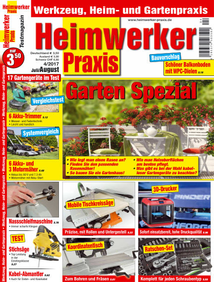 Heimwerker Praxis June 23, 2017 00:00
