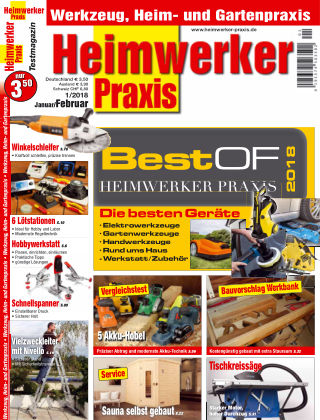 Heimwerker Praxis 01_2018