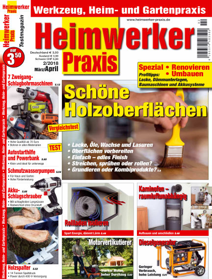 Heimwerker Praxis February 16, 2018 00:00