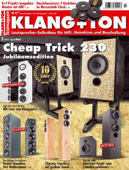 KLANG+TON April 08, 2017 00:00