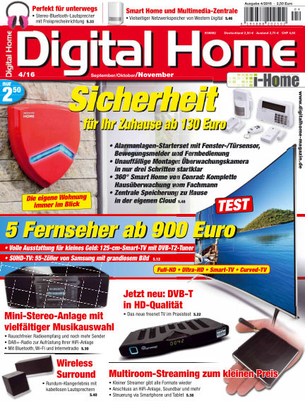 Digital Home September 02, 2016 00:00