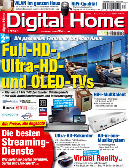 Digital Home December 22, 2017 00:00