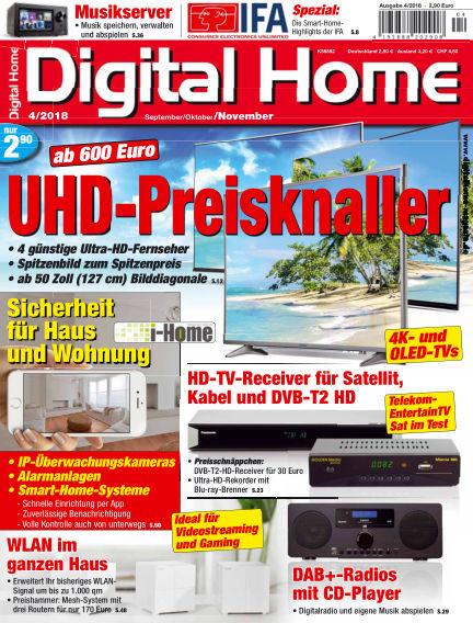Digital Home August 31, 2018 00:00