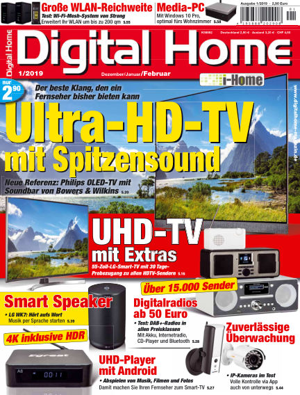 Digital Home December 21, 2018 00:00