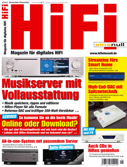 HiFi Einsnull October 20, 2017 00:00