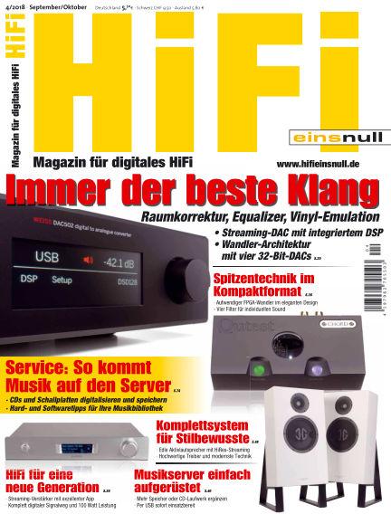 HiFi Einsnull August 17, 2018 00:00
