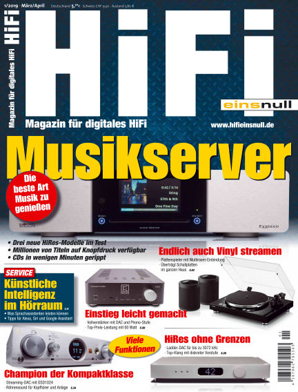 HiFi Einsnull February 15, 2019 00:00
