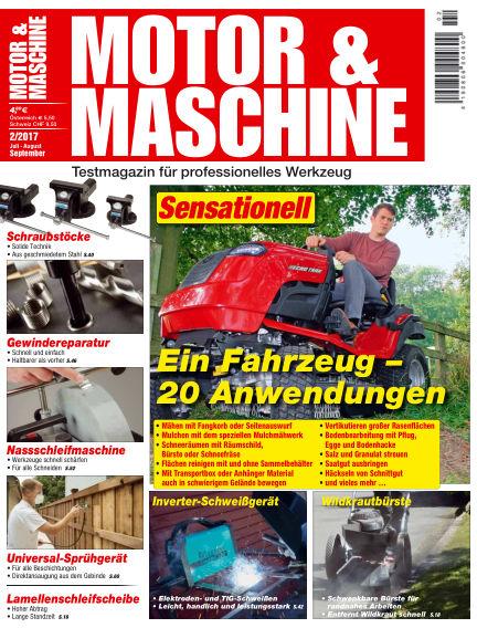 MOTOR & MASCHINE June 30, 2017 00:00