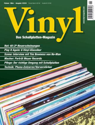 Vinyl - Das Schallplatten-Magazin (eingestellt) 01_2018