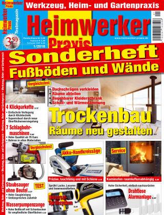 Heimwerker Praxis Sonderhefte Fußböden und Wände 01_2018