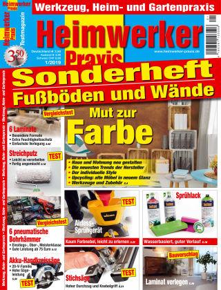Heimwerker Praxis Sonderhefte Fußböden und Wände 01_2019