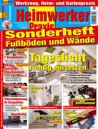 Heimwerker Praxis Sonderhefte Fußböden und Wände 01_2020