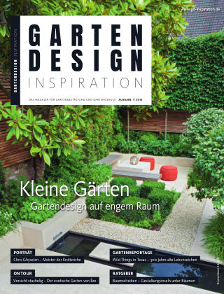 GARTENDESIGN INSPIRATION 1/2018